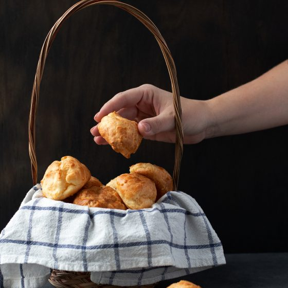 Emmer Gougeres (French Cheese Puffs)