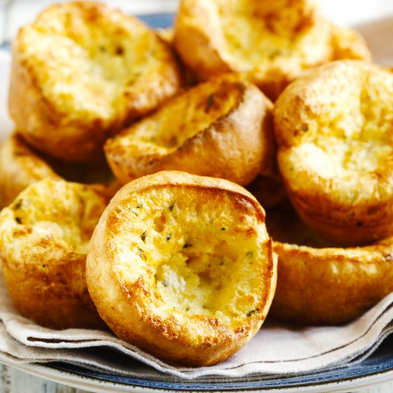 Brown Butter Popovers