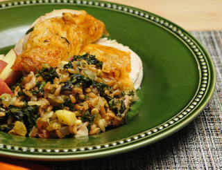 Farro_Stuffing_with_Winter_Greens_and_Apples