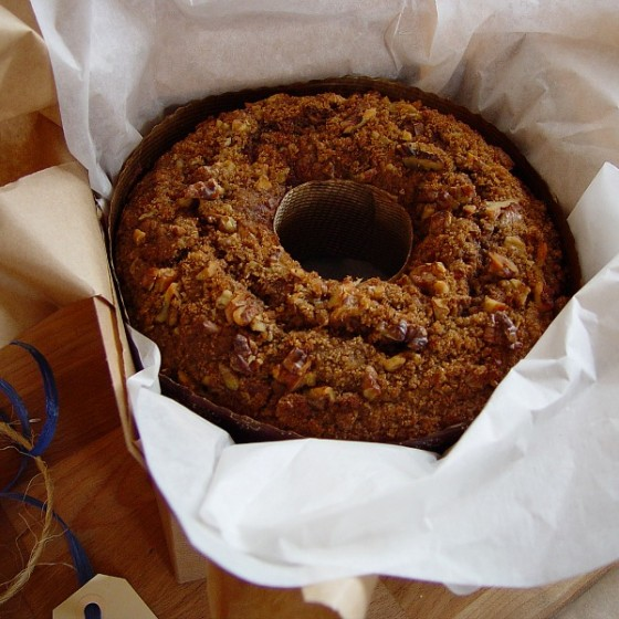 Emmer Coffee Cake