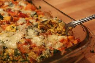 Farro & Vegetable Winter Casserole
