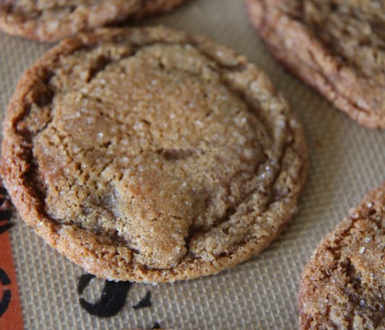 Perfect Whole Grain Molasses Cookies