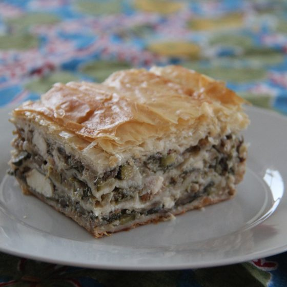Greek Vegetable Pie