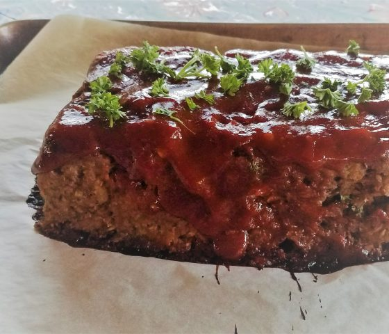Meatloaf with a Split Farro Punch!