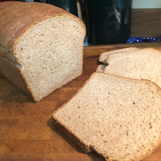 Jeff McNeal's Whole Wheat Bread