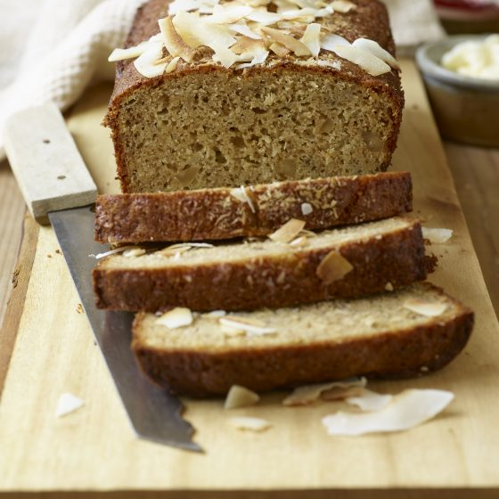 Einkorn Banana Coconut Quick Bread
