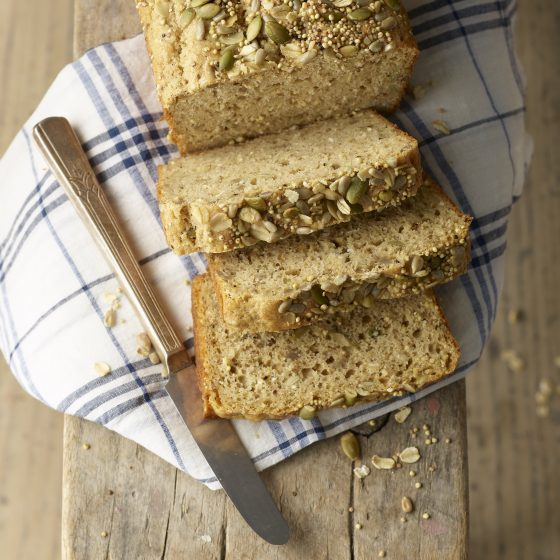 Seeded Einkorn Quick Bread